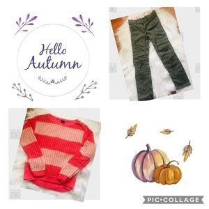Fall/Winter Little Girls Outfit Size 5